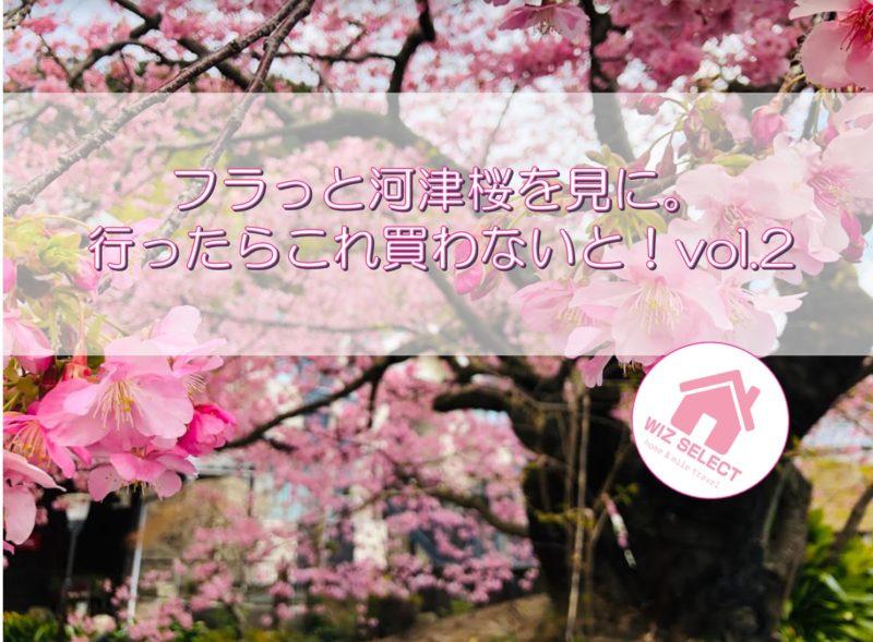 フラっと河津桜を見に。行ったこれ買わないと!vol.2